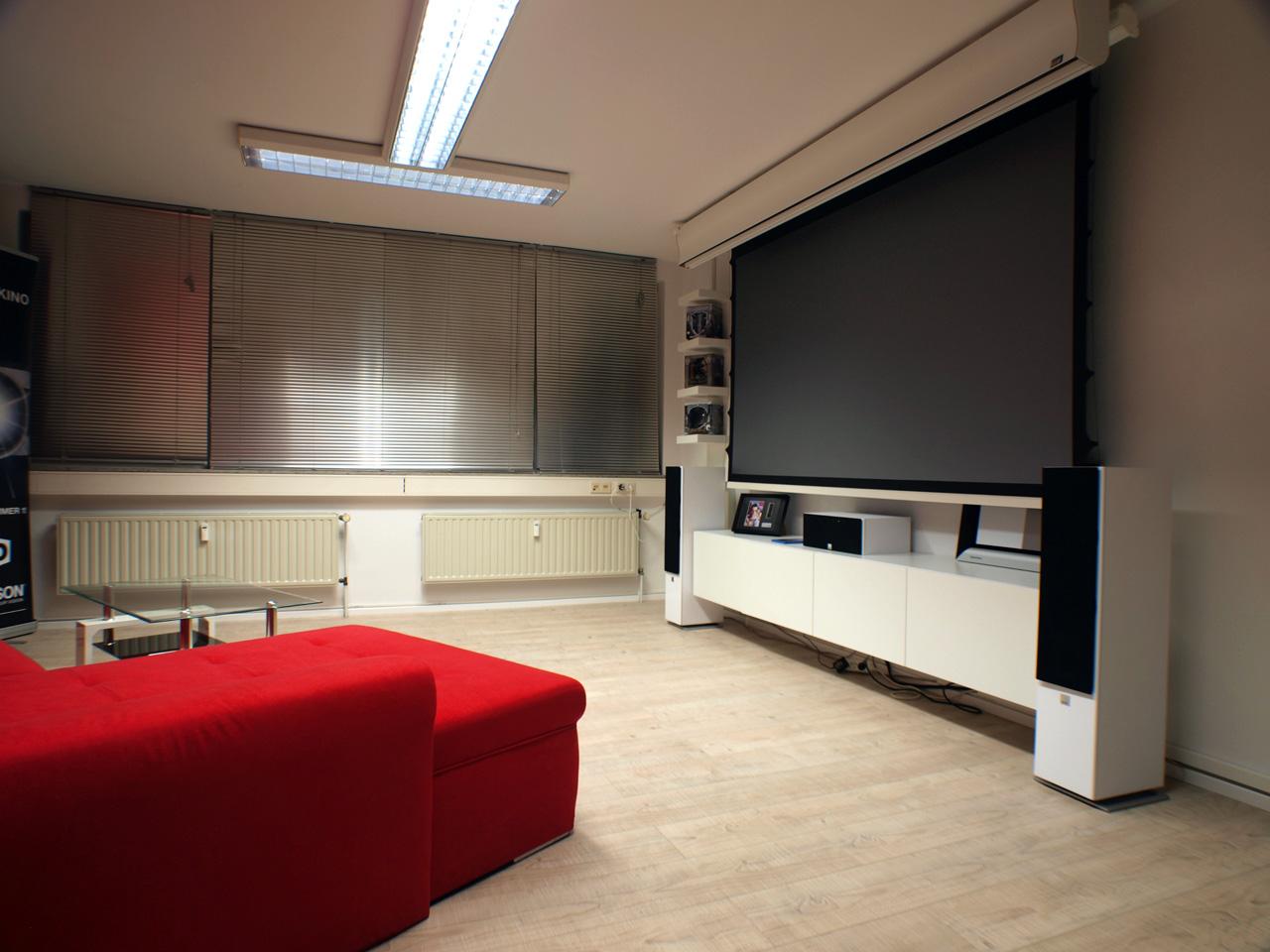 wohnzimmer ideen beamer. Black Bedroom Furniture Sets. Home Design Ideas