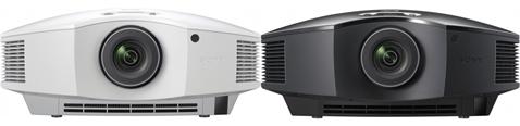 Sony VPL-HW40ES schwarz und weiß