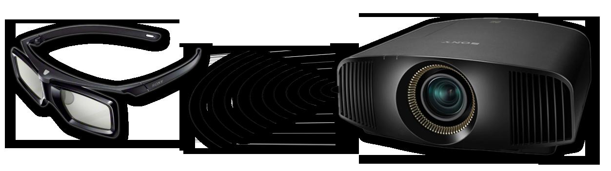 Sony VPL-VW500ES Seitenansicht