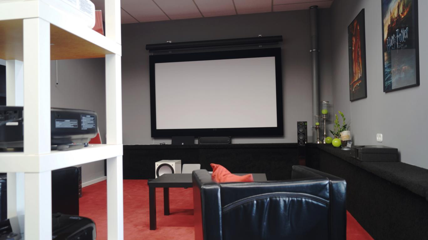 Wohnraum Kino