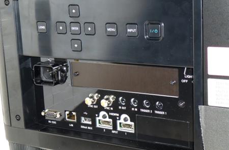 Sony VPL VW5000 Rückansicht