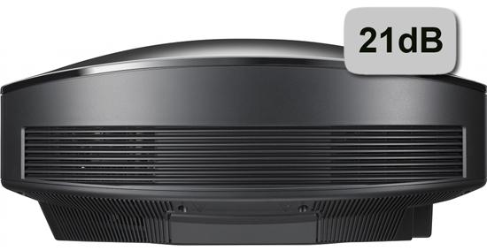 Sony VPL-HW55ES Rückansicht weiß