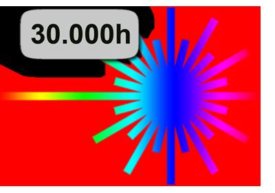Epson LS10000 Rückansicht