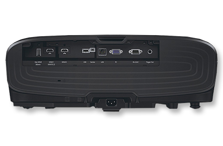 Epson EH-TW9300 Rückansicht